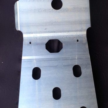 Bash plates to suit Toyota Hilux – Code 001 ABC